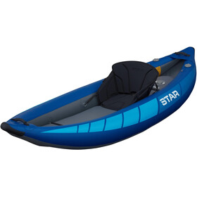 NRS STAR Raven I Inflatable Kayak blue